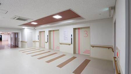 エレベーターホール(3F)